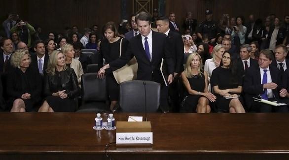 القاضي بريت كافانو مرشح الرئيس الأمريكي دونالد ترامب إلى المحكمة العليا (أرشيف)