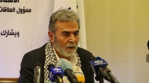 الأمين العام لحركة الجهاد الإسلامي زياد النخالة (أرشيف)