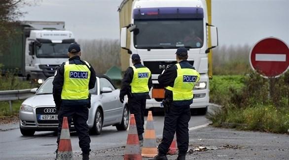 عناصر من الشرطة الفرنسية على الحدود (أرشيف)
