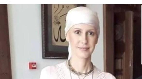 أسماء الأسد.(إنستاغرام)