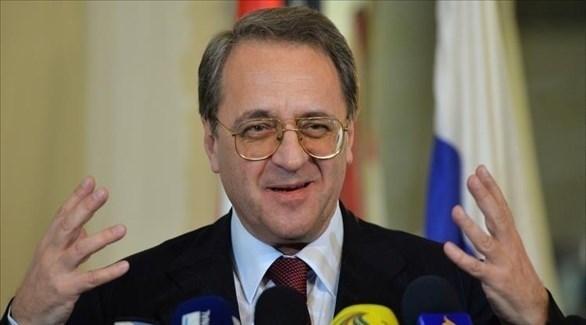 نائب وزير الخارجية الروسي، ميخائيل بوجدانوف (أرشيف)