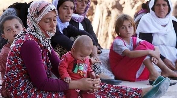 إيزيديات تعرضن للظلم من قبل داعش (أرشيف)