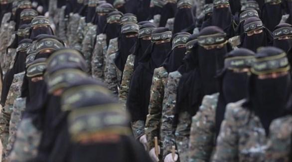 مقاتلات حركة الجهاد الإسلامي (من المصدر)
