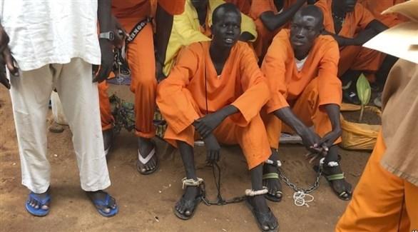 سجناء في جنوب السودان (أرشيف)