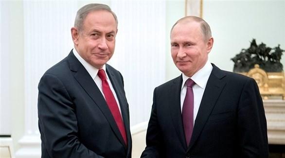 رئيس الوزراء الإسرائيلي نتانياهو والرئيس الروسي بوتين (أرشيف)