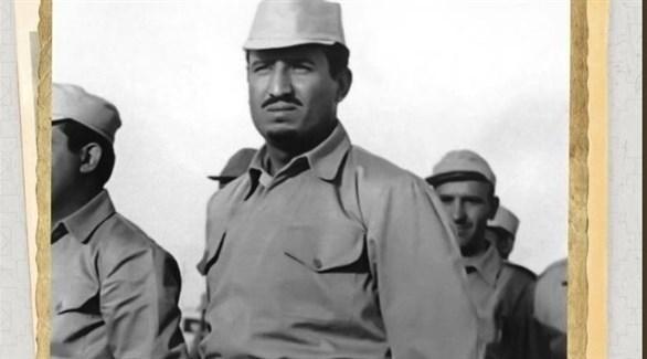 الملك سلمان خلال تطوعه بحرب الوديعة (من المصدر)