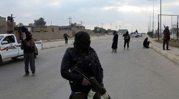 مسلحون من تنظيم داعش في العراق(أرشيف)