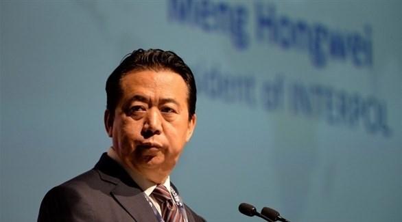 رئيس منظمة الشرطة الدولية الصيني المستقيل مينغ هونغ وي (أرشيف)