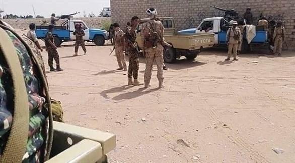 قوات تابعة لحزب الإصلاح المحسوب على الإخوان (أرشيف)