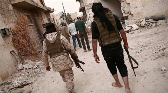 عناصر من الفصائل السورية المعارضة (أرشيف)