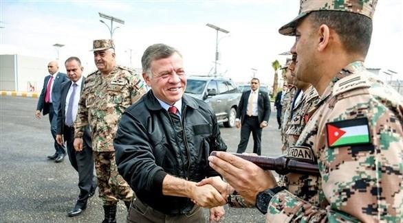 القائد العام للقوات المسلحة الأردنية الملك عبدالله الثاني (أرشيف)