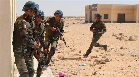 عناصر من الجيش المصري في سيناء (أرشيف)