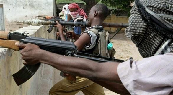 مسلحون من حركة الشباب الإرهابية في الصومال (أرشيف)