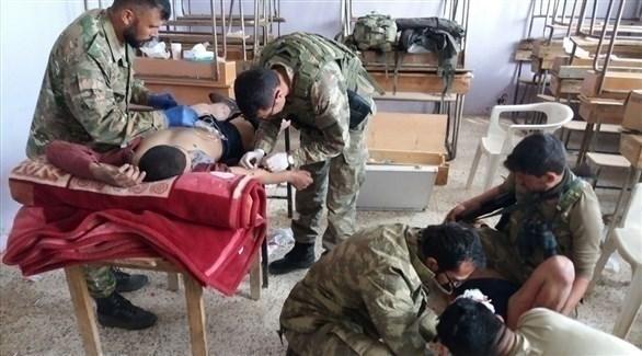 مصابون من الجيش التركي (تويتر)