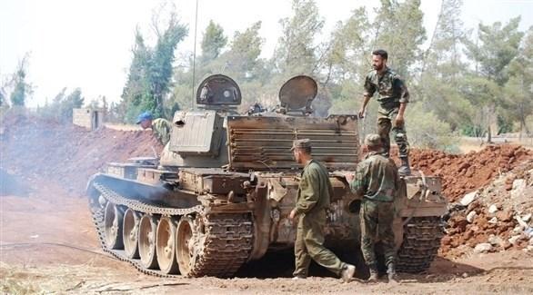جنود من الجيش السوري النظامي (أرشيف)