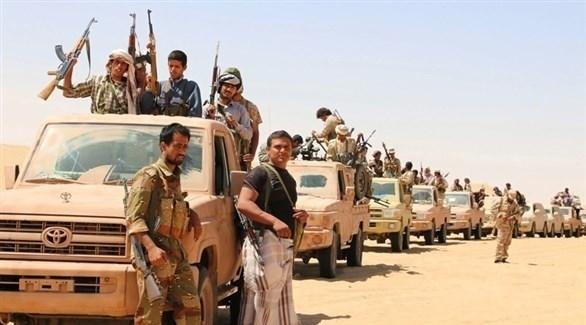 قافلة عسكرية من الجيش اليمني (أرشيف)