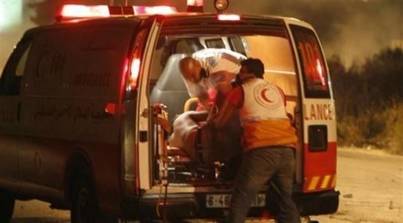 إسعاف فلسطيني (أرشيف)