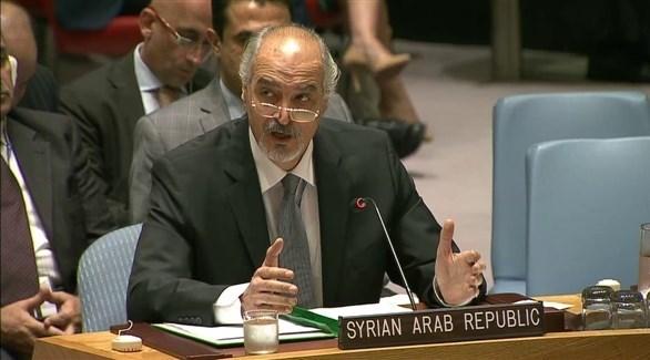 سفير سوريا لدى الأمم المتحدة، بشار الجعفري (أرشيف)