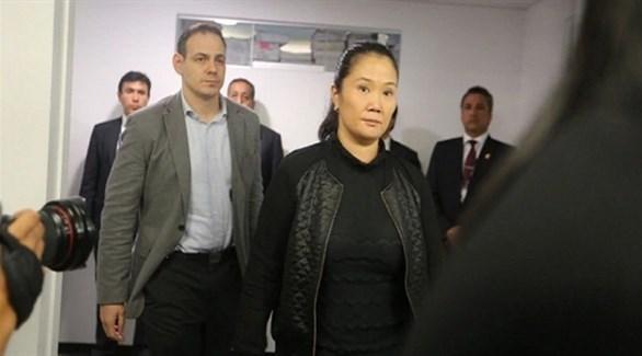 زعيمة المعارضة البيروفية كيكو  فوجيموري (إفي)