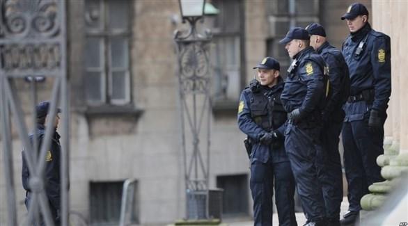 عناصر في الشرطة الدنماركية (أرشيف)