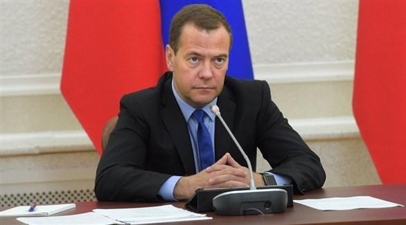 رئيس الوزراء الروسي ديمتري ميدفيديف (أرشيف)