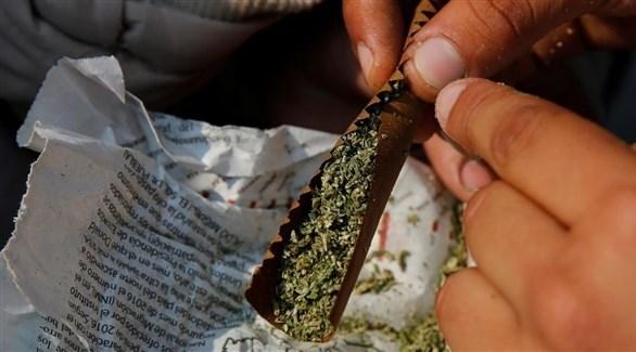 سيجارة ماريجوانا (أرشيف)