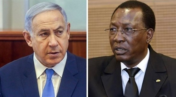 الرئيس التشادي إدريس دبي ورئيس الحكومة الإسرائيلية بنيامين نتانياهو (أرشيف)