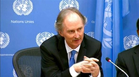 المبعوث الأممي الجديد إلى سوريا جير بيدرسون (أرشيف)