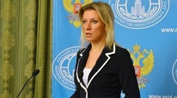 المتحدثة باسم وزارة الخارجية الروسية، ماريا زاخاروفا (أرشيف)