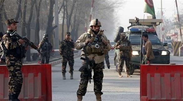 حاجز  لعناصر من الأمن الأفغاني (أرشيف)