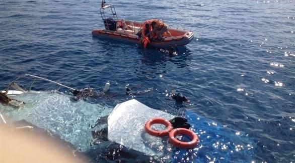 إنقاذ غارقين في المياه التركية (أرشيف)