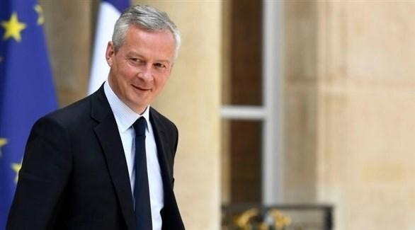 وزير الاقتصاد الفرنسي برونو لومير (أرشيف)