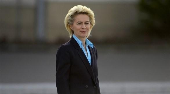 وزيرة الدفاع الألمانية أورزولا فون دير لاين (أرشيف)