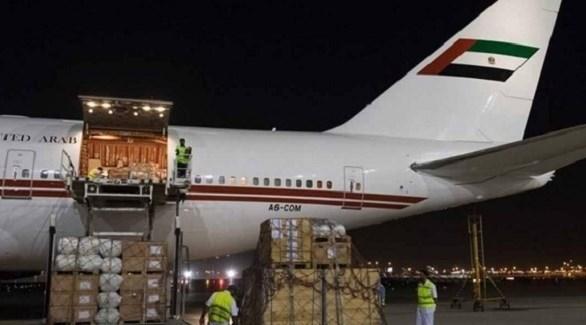 مساعدات إماراتية إلى الأردن (أرشيف)