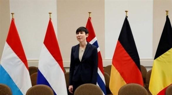 وزيرة خارجية النرويج إينه إريكسن سوريدي (أرشيف)