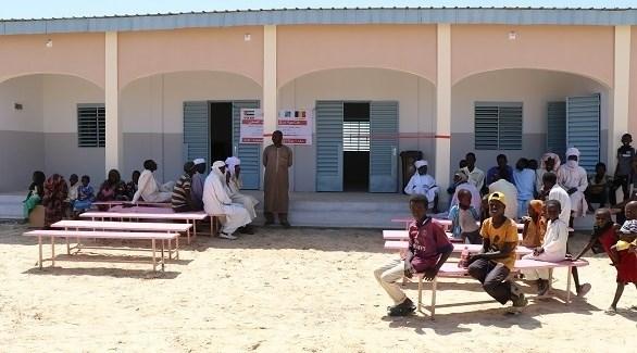 مركز الشيخ زايد الصحي في تشاد (من المصدر)