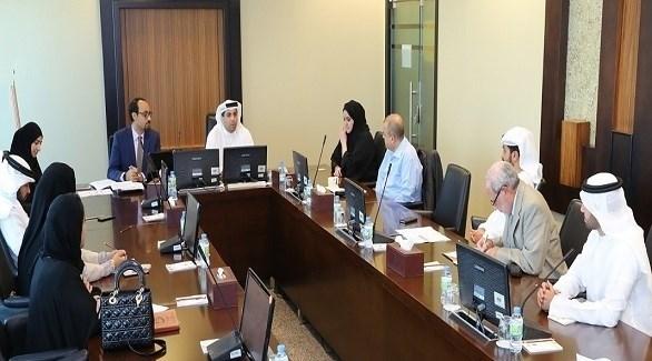 خلال الاجتماع (من المصدر)
