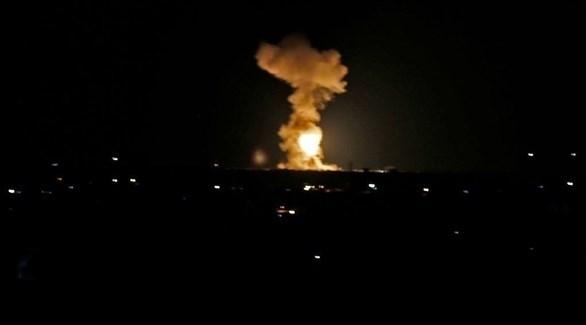قصف متبادل بين إسرائيل وفصائل فلسطينية في غزة (أرشيف)