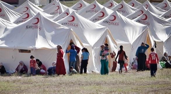 مخيم للاجئين السوريين في تركيا (أرشيف)