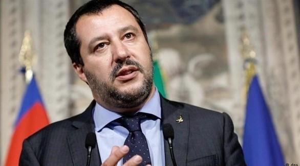وزير الداخلية الإيطالي ماتيو سالفيني (أرشيف)