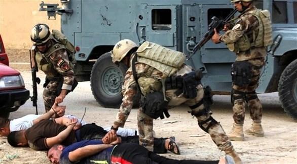 اعتقال عناصر من داعش في الموصل (أرشيف)