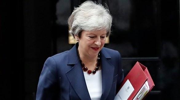رئيسة وزراء بريطانيا تيريزا ماي (أرشيف)