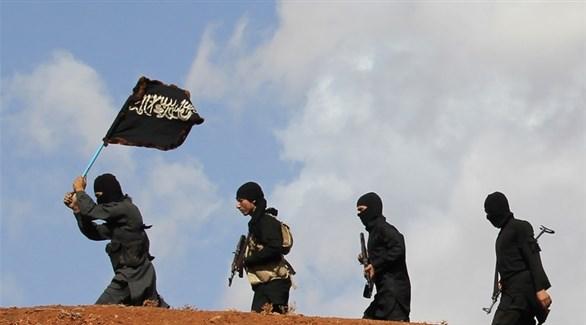 مقاتلون في صفوف تنظيم داعش الإرهابي (أرشيف)