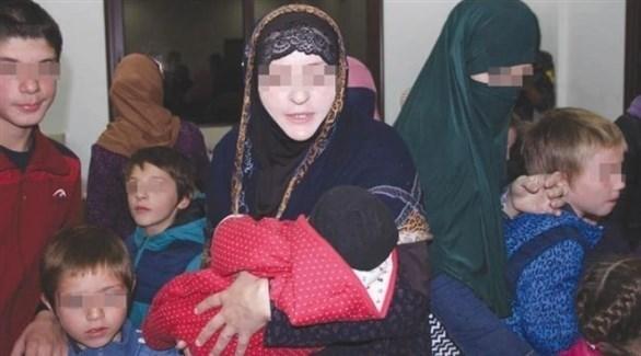 عائلات مقاتلين في صفوف داعش الإرهابي (أرشيف)