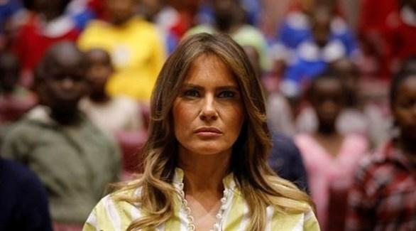 زوجة الرئيس الأمريكي ميلانيا ترامب (أرشيف)