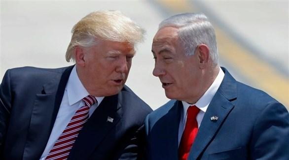 الرئيس دونالد ترامب ورئيس الحكومة الإسرائيلية بنيامين نتانياهو (أرشيف)