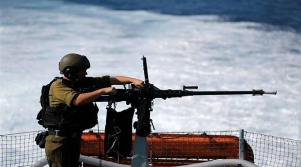 أحد عناصر قوات البحرية الإسرائيلية (أرشيف)