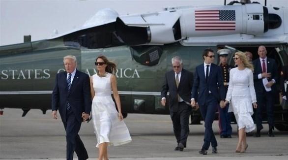 ترامب وزوجته ميلانيا (أرشيف)