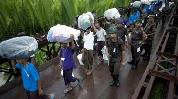لاجئون من الروهينجا في بنغلاديش (أرشيف)