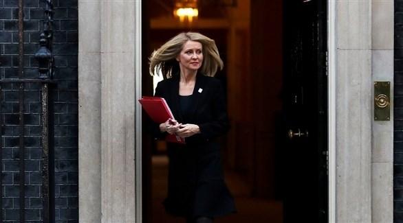وزيرة العمل والمعاشات البريطانية إيستر مكفي (أرشيف)
